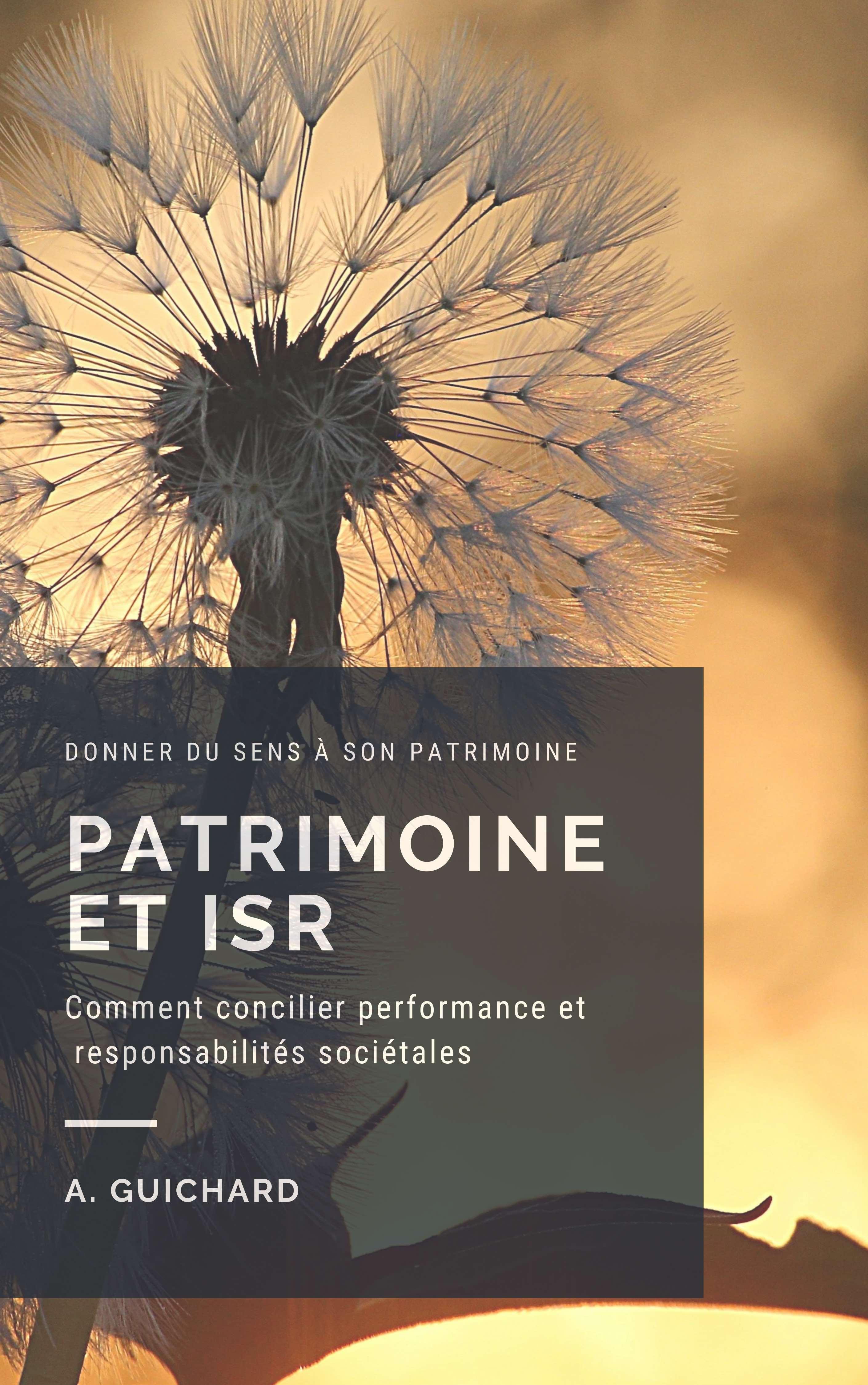 gestion de patrimoine et ISR